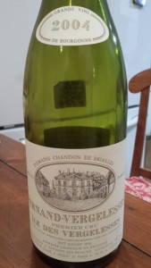 Chandon de Brailles Ile Blanc 2004