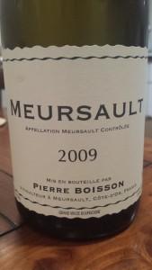 Pierre Boisson Meursault 2009 #1