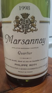 Roty Marsannay Quartier 1998