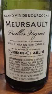 Buisson Charles Meursault VV #1