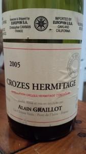 Graillot Crozes 2005