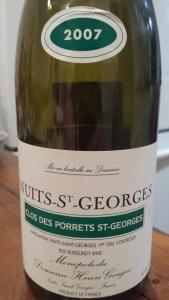 Henri Gouges Nuits Porrets 2007
