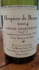Jadot Hospices Corton Charlemagne 2004