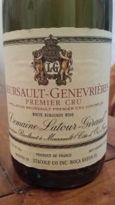Latour-Giraud Meursault Genevieres 2005