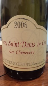 Lignier Michelot Morey Chenevery 2006