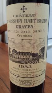 Mission Haut Brion 1983