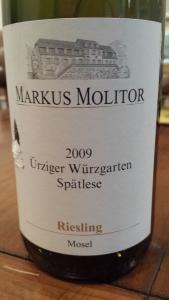 Molitor Spatlese 2009 #1