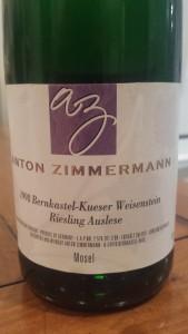 Zimmerman Auslese 1998