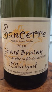 Boulay Chavignol 2010