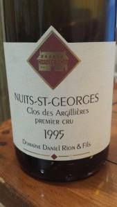 Rion Nuits Argillieres 1995 #1