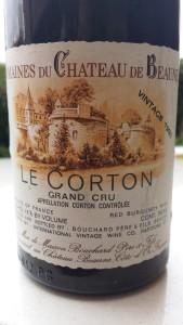 Bouchard Corton 1983
