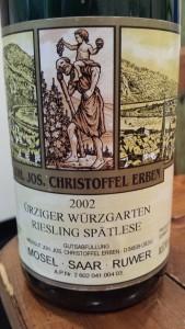 Christoffel Urzig Spatlese 2002