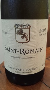 Coche Bouillot Saint Romain 2005 #1