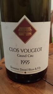 D. Rion Clos Vougeot 1995 #1