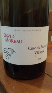 David Moreau Cote de Beaune Villages 2011 #1