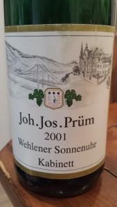 J.J. Prum Kabinett 2001