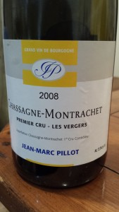 Jean Marc Pillot Chassagne Vergers 2008 #1