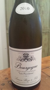 Bize Bourgogne Perrieres 2010