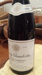 Boillot Gevrey Champonnets 1996