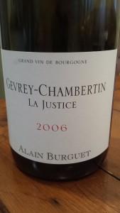 Burguet Gevrey Justice 2006 #2