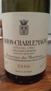 Martray Corton Charlemagne 2006