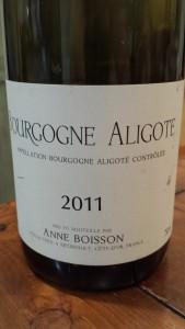 Anne Boisson Aligote 2011