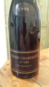 Burguet Champeaux 1998