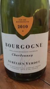 Verdet Bourgogne Blanc 2010