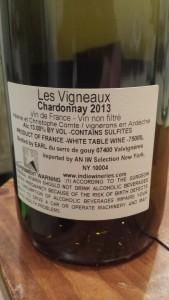 Vigneaux Chardonnay 2013 #1