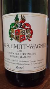 Carl Schmitt-Wagner Spatlese 2007