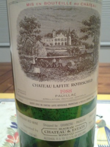 Lafite 1988 the one