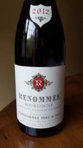 Remoissenet Bourgogne Renommee 2012