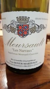 Boyer Martenot Meursault Narvaux 2010