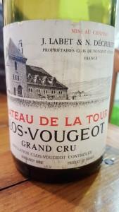Chateau de la Tour Vougeot 1990