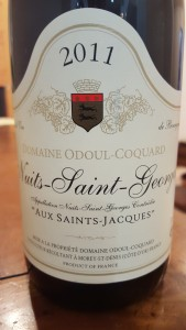 Odoul Coquard Nuits 2011