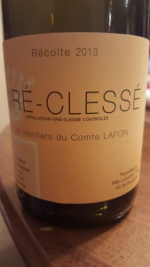 Lafon Vire Clesse 2013