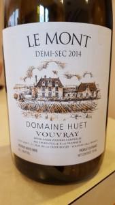 Huet Vouvray Mont Demi 2014