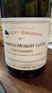 Girardin Chambolle Charmes 2002