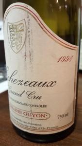 Guyon Echezeaux 1998