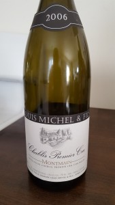 Louis Michel Chablis Montmains 2006