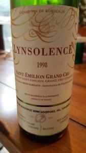 Lynsolence 1998