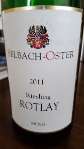 Selbach Oster Rotlay 2011
