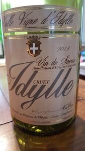 Idylle Cruet Vielles Vignes 2013 #1