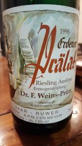 Weins Prum Pralat Auslese 1998