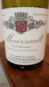 Boyer Martenot Meursault Narvaux 2014