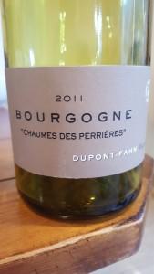 Dupont Fahn Bourgogne Perrieres 2011