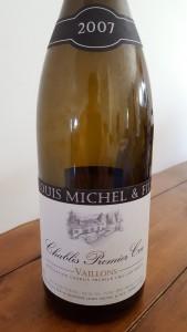 Louis Michel Chablis Vaillons 2007