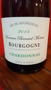 Bernard Moreau Bourgogne Blanc 2014
