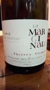 Thierry Germain Marginale 2012