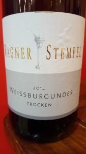Wagner Stempel Weissburgunder 2012